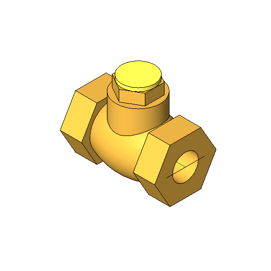 Threaded-Bronze Check Valve